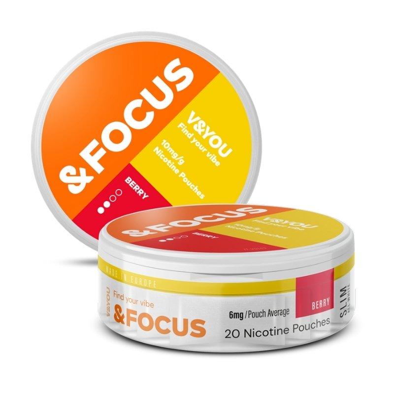 V&YOU berry focus 6mg