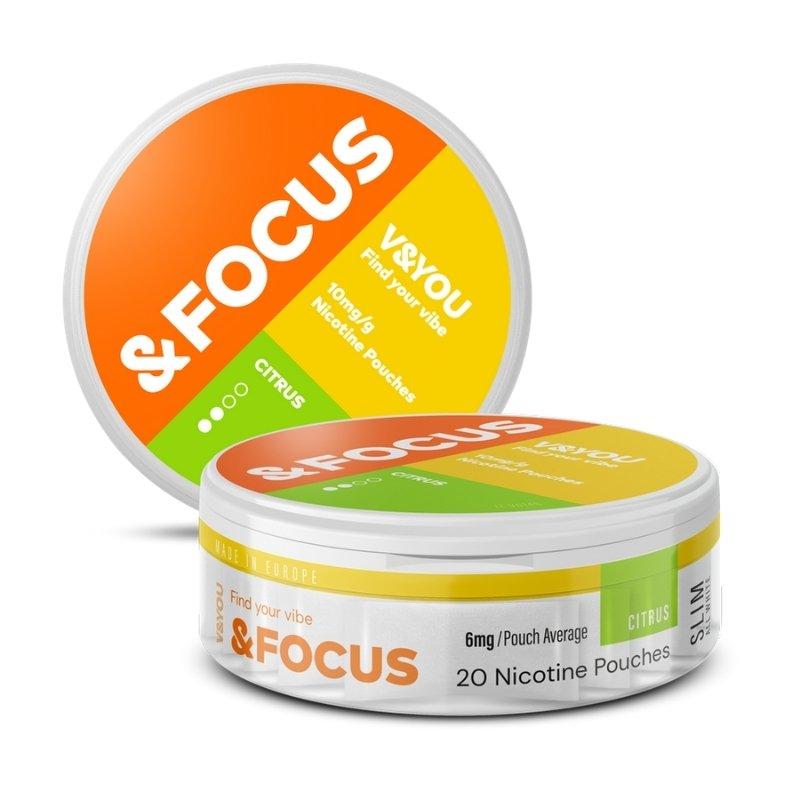 V&YOU Citrus focus 6mg